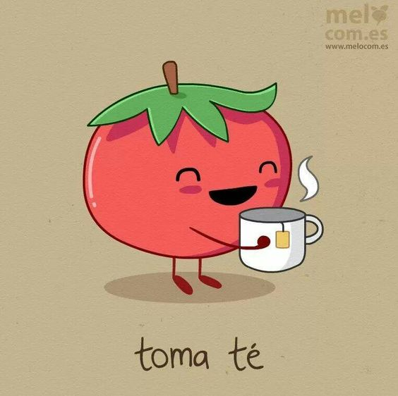 Toma té :)  I've discovered my students are obsessed with Spanish puns!!