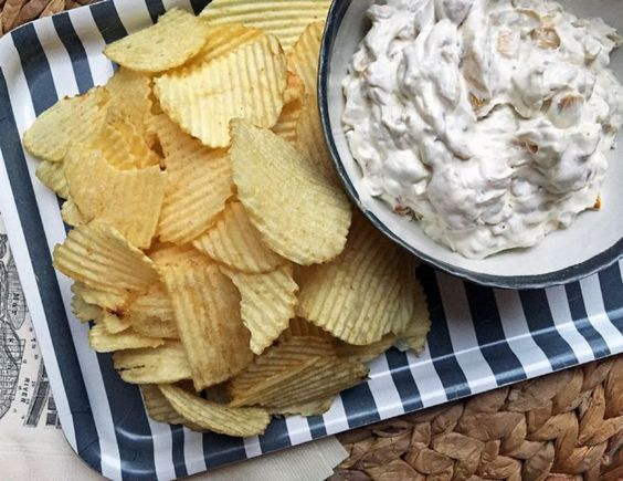 Alton Brown's Onion Dip from Scratch: I have nothing against using manufactured mixes, but look, after the zombie apocalypse strikes, and the megamart shelves are stripped bare … what do we do then? Those of us with this recipe in our go-bags will survive to dip another day.