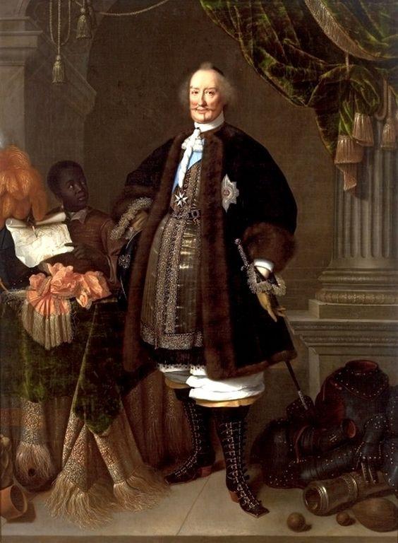 Pieter Nason (fl. 1632-1690) — Portrait of Johan Maurits, Count of…: