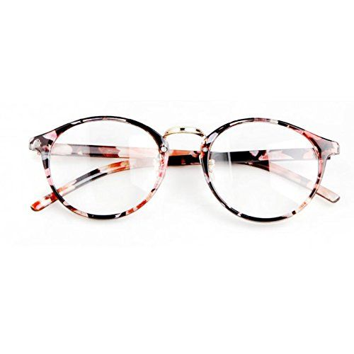 Mode Cat Eye Gläser Retro Vintage Sunglasses Sonnenbrille Oval Brille Dekobrille