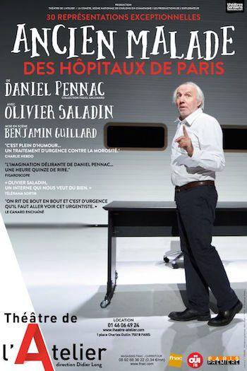 Ancien Malade des Hôpitaux de Paris : un feu d'artifice comique au Théâtre de l'Atelier