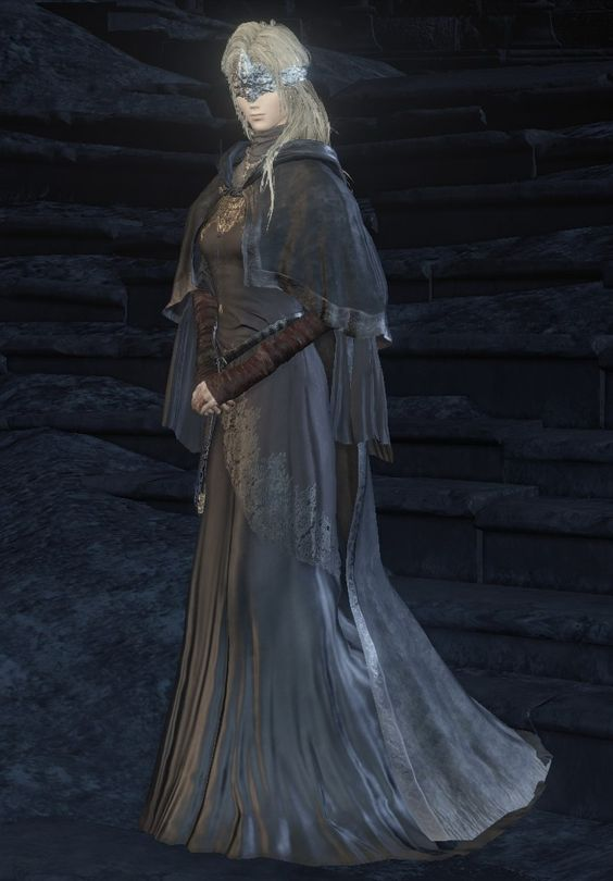 Dark souls fire keeper cosplay