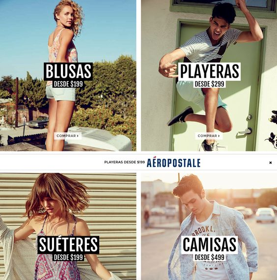 #eldoradocc #aeropostale #blusas #sweaters #camisas #jeans #vivedorado #vivebien #colores #primavera #tendencias