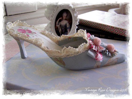 Marie Antoinette shoes.
