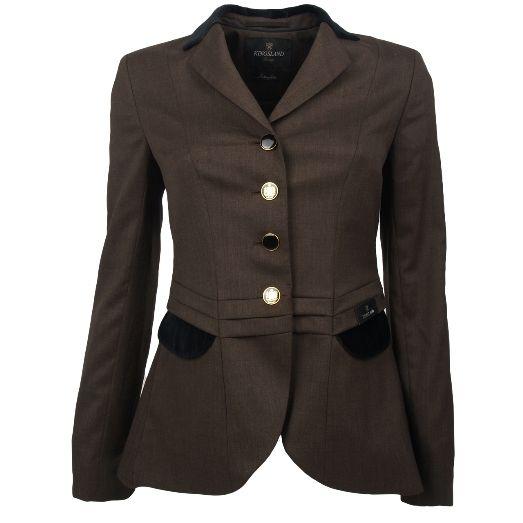 Kingsland dressage competition jacket in turkish coffee love it