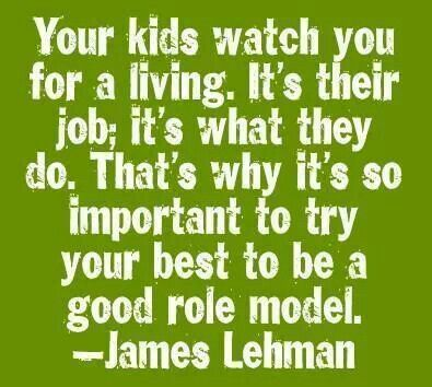 Influence of role models on children