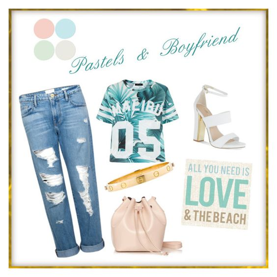 """Pastels & boyfriend #4"" by elisesoprano on Polyvore"