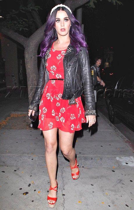 Katy Perry's Best Street Style Looks  #celebritystyle #katyperry #streetstyle