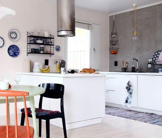 No Wall Cabinet Kitchen
