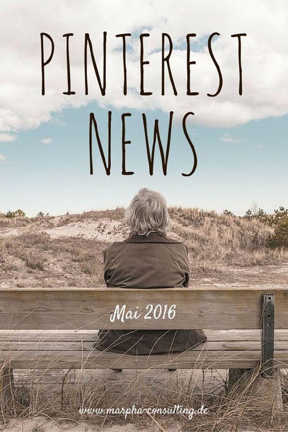 Pinterest News Mai 2016: Pinterest führt Promoted Pins in Großbritannien ein | Mehr Content Discovery mit Featured Collections | Schlanker & schicker: Pinterest möbelt iOS-App auf