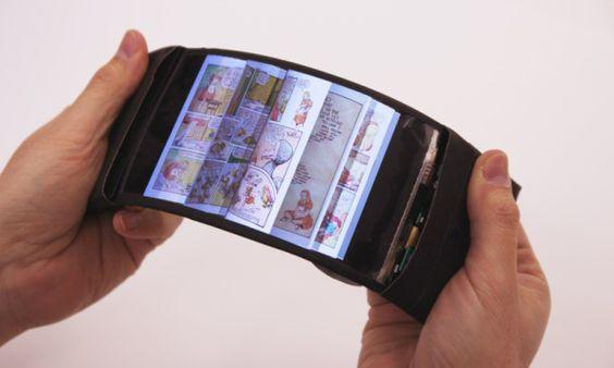 Móviles con pantalla flexible en el futuro?  Móviles y Tablets futuro pantalla flexible smartphone video: