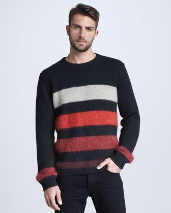 Color blocked - Bedford Crew Sweater by Rag & Bone