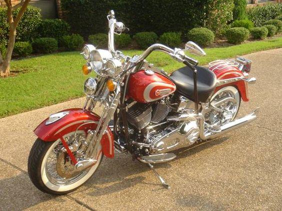 2001 Harley Heritage Springer | Cholo | Pinterest