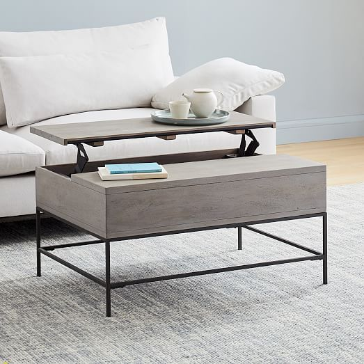 Pin By Kara E On Home In 2020 Coffee Table Grey Coffee Table Furniture