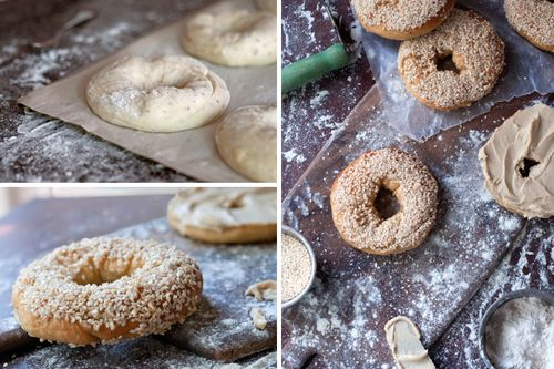 Old-fashioned Montreal-style bagels. Yum! Best city for bagels. Via Madcap Cupcake. #vegan