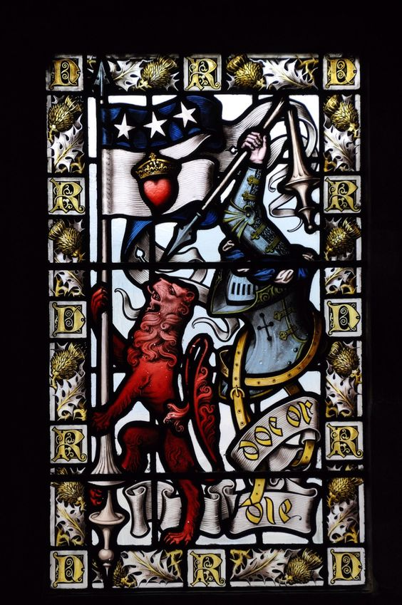 Douglas Clan Knights | ... Hall, Stirling Castle : Crest of John Douglas, 2nd Earl of Morton