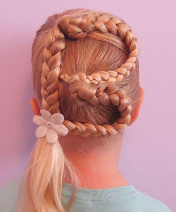 Marvelous Kid Hairstyles Simple Braids And Hairstyles For Girls On Pinterest Hairstyles For Men Maxibearus