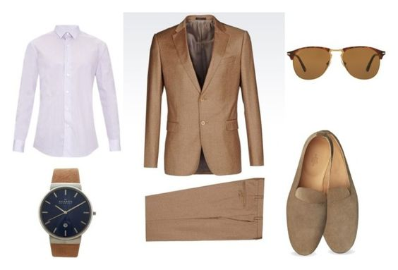 Eventos by ofcoursemyhorse on Polyvore featuring Lanvin, Skagen, Persol, men's fashion, menswear, preppy and gentleman