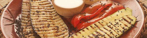 Poder nas mãos: Salada Frita        2 berinjelas médias3 abobrinh...