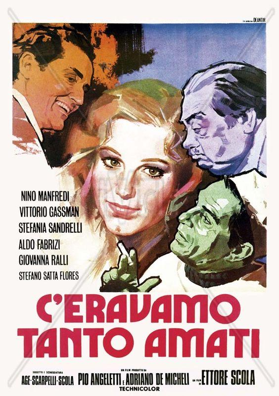 C'ERAVAMO TANTO AMATI Dubito di aver mai visto un film dal cast tanto eccezionale; forse neanche le comparse erano degli emeriti scono...