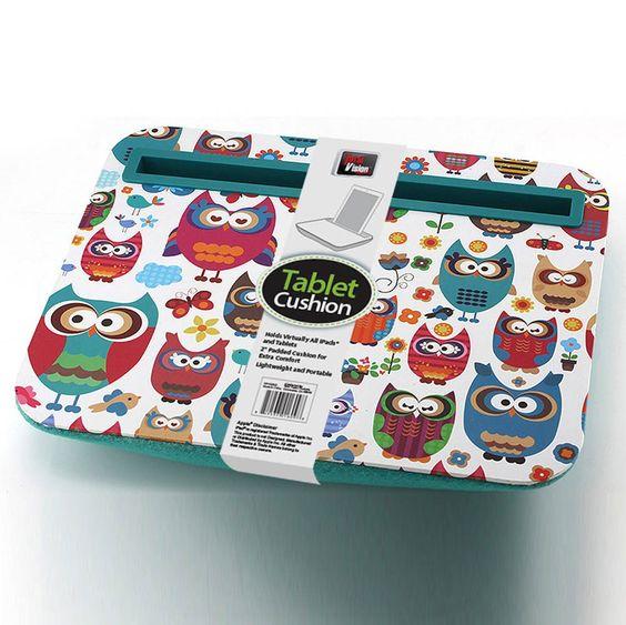 Owls Tablet Lap Cushion