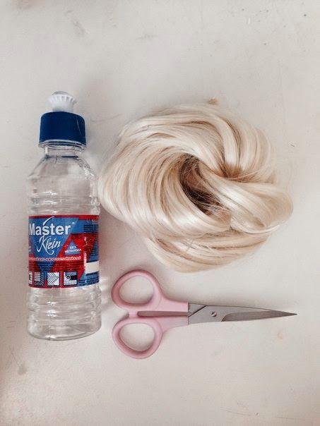 Mimin Dolls: Como colocar cabelos na sua doll com colagem by J.Melnikova