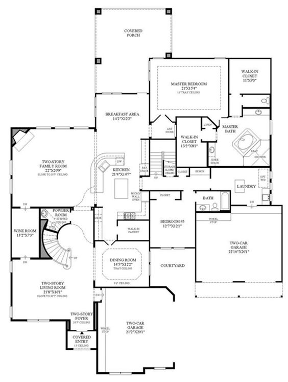 St paul versailles toll brothers 1st floor floor for Versailles house floor plan