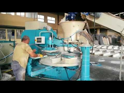 Machine Pour Carreaux Decoratifs De Sol Et Mur Machine Carreaux De Pavage Machine Carreaux Terrazzo Carreaux De Sol Mur Decoratif Machine De Polissage