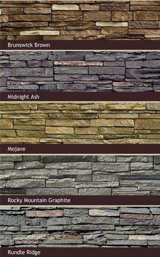 Stone siding nextstone slatestone simulated stone Vinyl siding that looks like stone