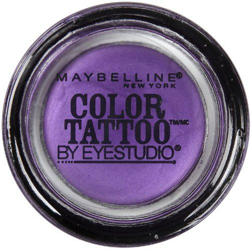 Maybelline 24 Hour Eyeshadow, Painted Purple, 0.14 Ounce - List price: $6.99 Price: $4.97 Saving: $2.02 (29%) + Free Shipping