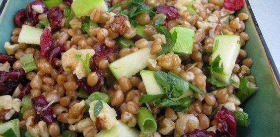 Love Love this Wheat Berry Salad. So did everyone else!!!