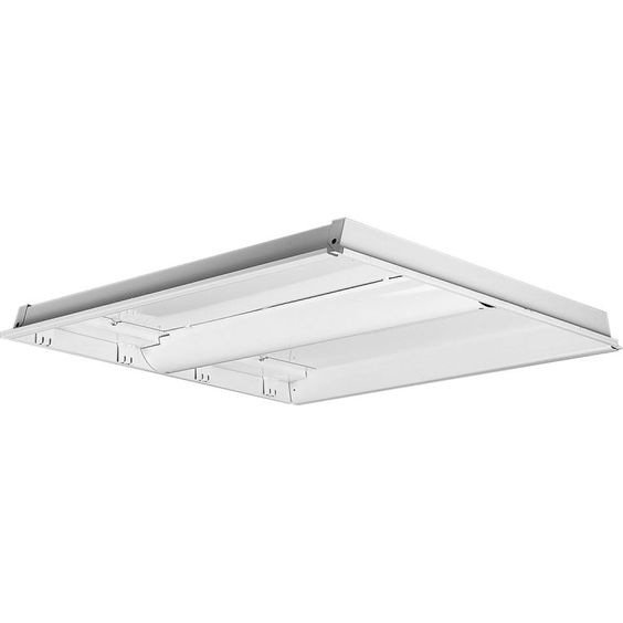 Progress Lighting P7213EB Flush Mount Fluorescent Light White