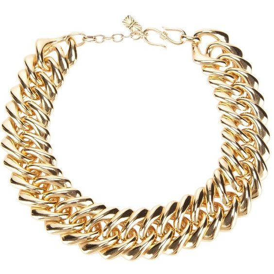 YVES SAINT LAURENT VINTAGE chain link necklace