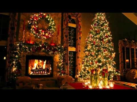 Christmas trees, Fireplaces and Winter wallpaper on Pinterest