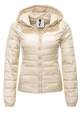 Only Damen Steppjacke Übergangsjacke Damenjacke Leichte Jacke Steppmantel Mantel