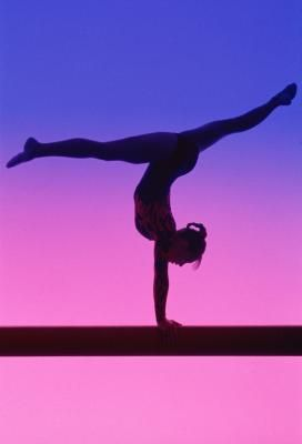 I love gymnastic because this sport is very fun. You always have to improve your moves and be very strong.I wish I could be more flexible.