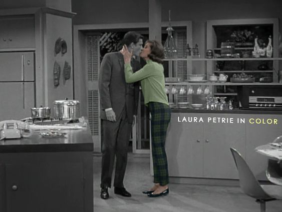 Laura Petrie in Color The Dick Van Dyke Show: