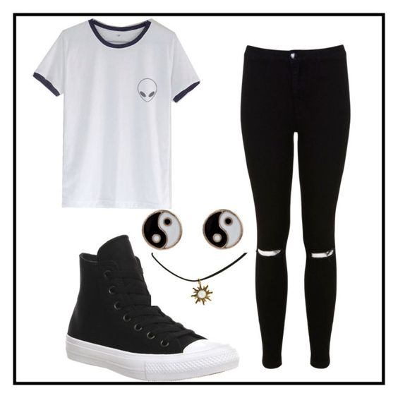 """""""Who Needs Colour Anyways?"""" by jodietuf on Polyvore"""