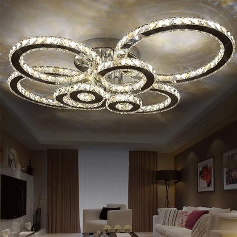 Led Ceiling Lights, Modern Led Chandeliers For Bedroom