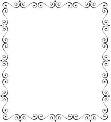 Marcos para invitaciones de boda elegantes decoraciones - Cuadros con marco blanco ...