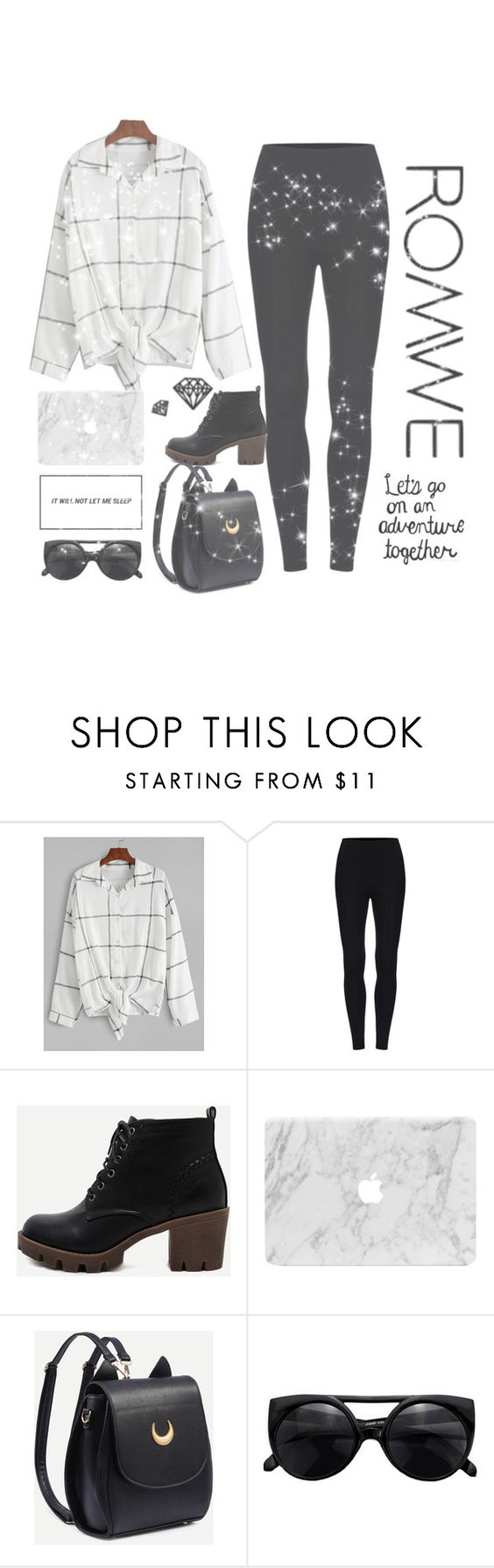 """""""Romwe"""" by beatr1zz ❤ liked on Polyvore"""