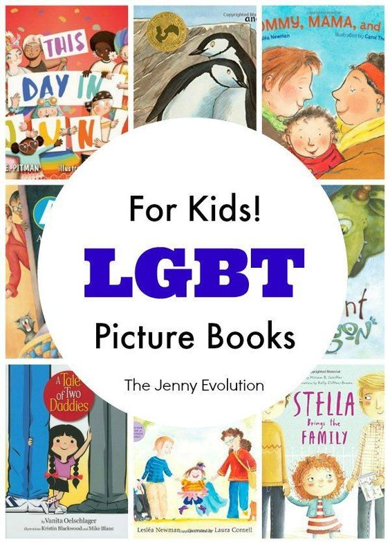 Best LGBT Books for Children - Picture Books About Lesbian & Gay Families: