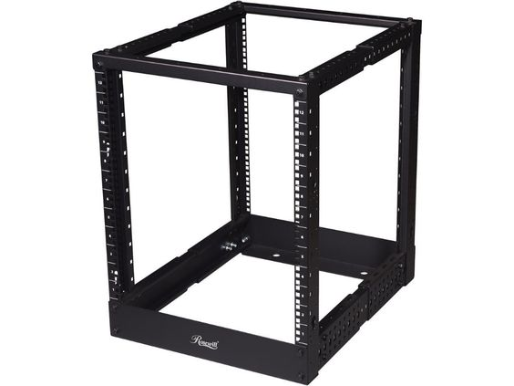 Rosewill 12u 19 Desktop Open Frame 2 Post Rack Rsr 2p12u001 Newegg Com Open Frame Frame Rack