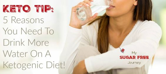 Keto Tip: 5 Reasons You Need To Drink More Water on a Ketogenic Diet!