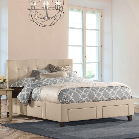 Hayton Storage Panel Bed