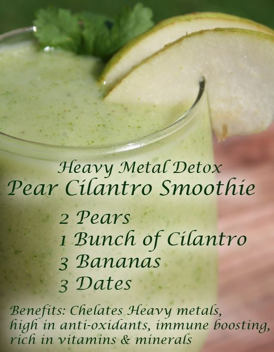 Heavy Metal detox smoothie