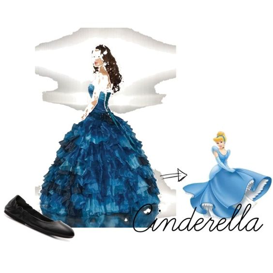 Prom #1 Cinderella, created by analise-lopez on Polyvore