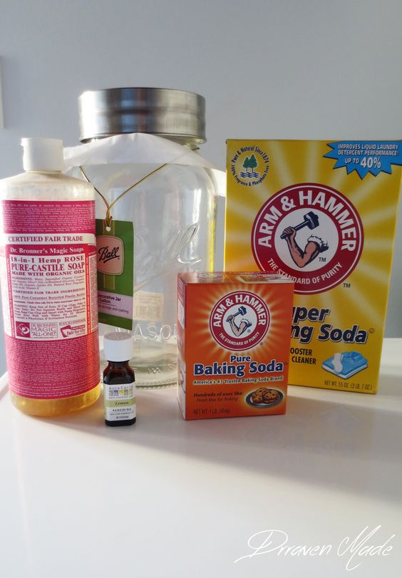 Draven Made: 5 Minute Natural Laundry Detergent {Borax Free!}