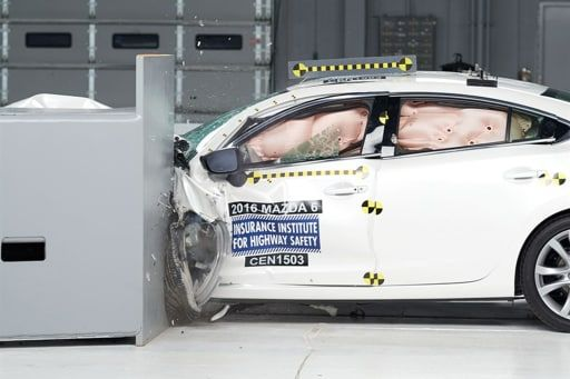 2018 Mazda6 Held Back By Headlights In Iihs Crash Ratings Mazda