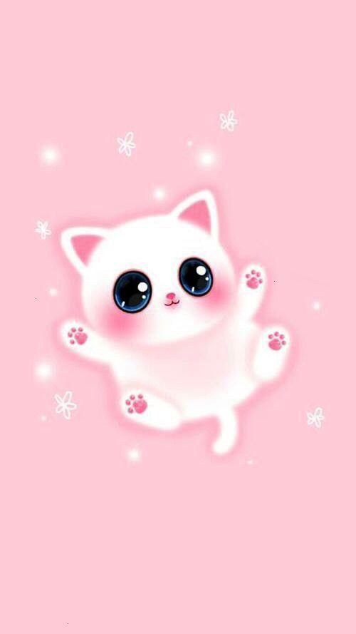 Backgroundswallpap Hintergrundbild Wallpapers Schone Iphone Melody Katze Girly Pink Cat In 2020 Wallpaper Iphone Cute Cute Wallpapers Cute Cartoon Wallpapers